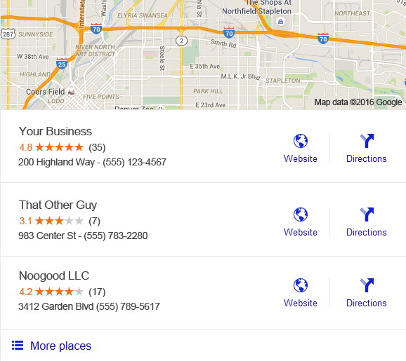 Get Google & Yelp Reviews | Ovalmint